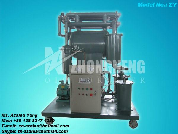 Series ZY Single-stage Vacuum Insulating Oil Purifier 1