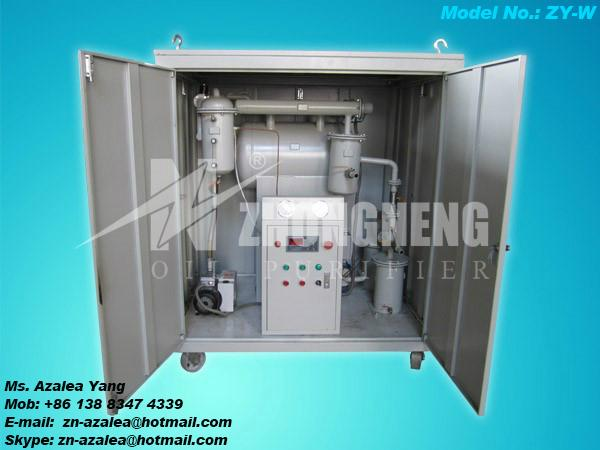 Series ZY Single-stage Vacuum Insulating Oil Purifier 3