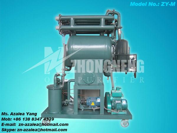 Series ZY Single-stage Vacuum Insulating Oil Purifier 4