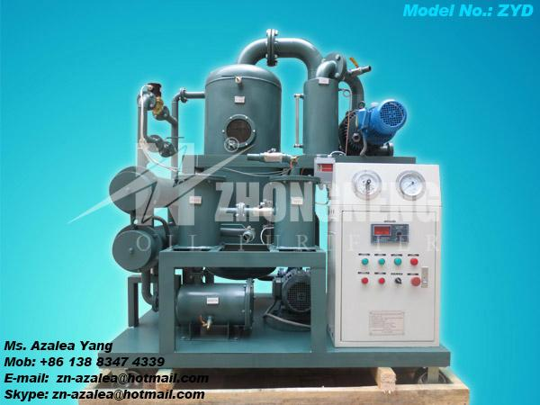 Series ZYD Double-stage Vacuum Insulating Oil Purifier 1