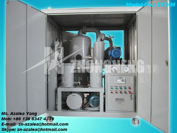 Series ZYD Double-stage Vacuum Insulating Oil Purifier 3