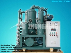 Series ZYD-I Double-stage Vacuum Insulating Oil Regeneration Purifier