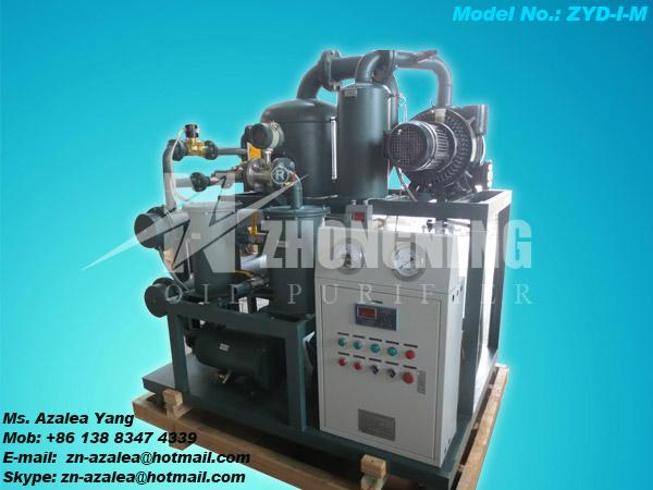 Series ZYD-I Double-stage Vacuum Insulating Oil Regeneration Purifier 3