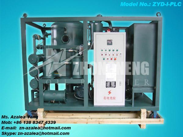 Series ZYD-I Double-stage Vacuum Insulating Oil Regeneration Purifier 4