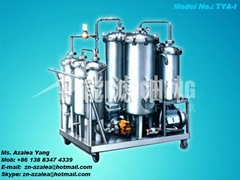 Series TYA-I Phosphate Ester Fire-resistant Hydraulic Oil Purifier