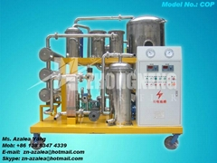 Series COP Vacuum Used Cooking Oil Purifier