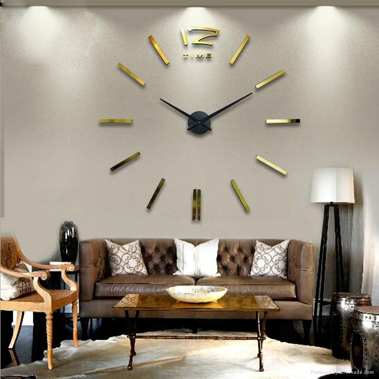 Silver Color Wall Watch For Home Decor 12s003 G Max3