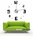 3D Frameless Large Wall Clock  1