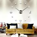 Modern Art Design 3D DIY Wall Clock