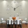 Wall Clock Large Diy Acrylic Clocks