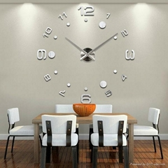 Wall Clock Large Diy Acrylic Clocks