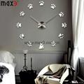 DIY Large Wall Clock 3D Acrylic Sticker
