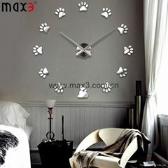 DIY Large Wall Clock 3D