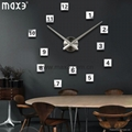 Wall clock big size for home decoration
