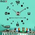 Creative wall sticker clock