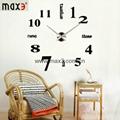 Diy different shape wall clock