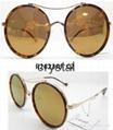 round shape fashion polarized sunglasses