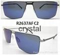 Supler light metal polarized sunglasses