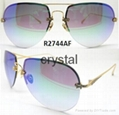 aviator light polarized sunglasses