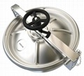 stainless steel manhole cover