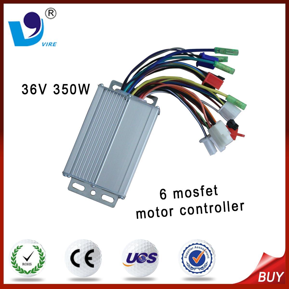 800w 36v electric motor controller 6 tubes 6 tube 36v for Ev ac motor controller