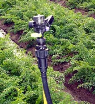 G1/2Full Circle Gardens Plastic Impulse Sprinkler 2