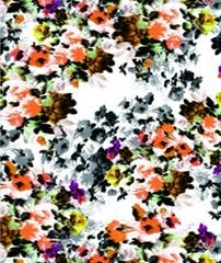 数码印花面料棉针织布PH-H13432