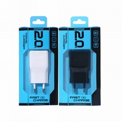 Portable EU 5V 2A USB Travel Charger