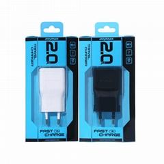 Portable EU 5V 2A USB Travel Charger
