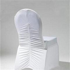 Ruffled Spandex Chair Co