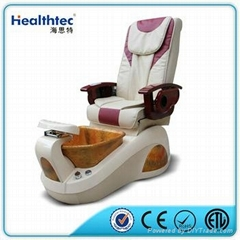 whirlpool european touch back massage pedicure foot spa chair