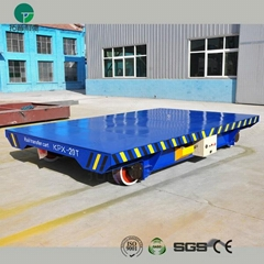 Rail transfer truck for steel plant apply on turning rail