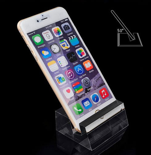 Security acrylic block phone stand cell phone display 5