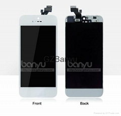 Mobile Phone Replacement LCD Assembly for Iphone 5