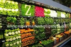蔬菜水果展示冷櫃蔬菜水果連鎖店專用