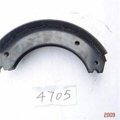 4705 Powder Coat Brake Shoe