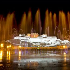 Large Scale Music Fountain 1