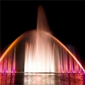 Rainbow Music Fountain