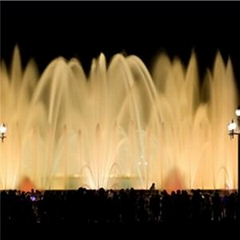 Outdoor Music Fountain