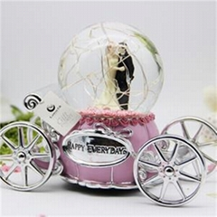 Snow Globe Music Box Valentine Gifts
