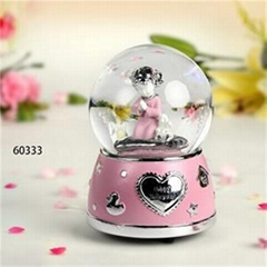 Snow Globe Music Box Birthday Gifts
