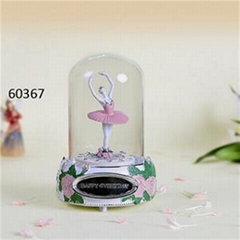 Holiday Snow Globe Music Boxes