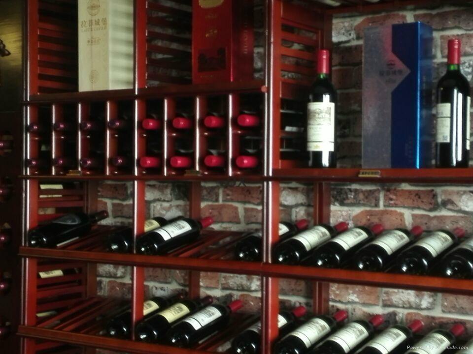 红葡萄酒架设计制作 1