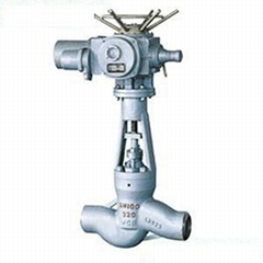 the power station electric welding cut-off of globe valve