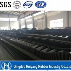 Corrugated Sidewall Rubber Conveyor Belt for Transportation