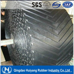 Cleated Pattern V Chevron Conveyor Belt