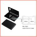 square plastic empty compact powder case