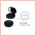 shiny black blush container empty