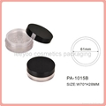 empty loose powder jar with sifter loose