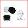 cosmetic jar plastic jar single